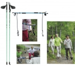 GYMSTICK Nordic Walking Health 120CM