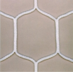 Mini football net (3x2x1+1) Exceed-white, Rhomb, Φ 3,5mm